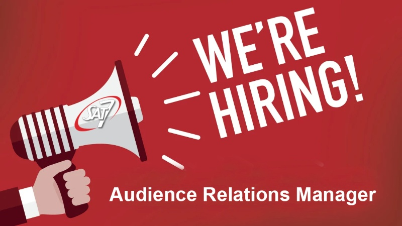 وظيفة شاغرة Audience Relations Manager